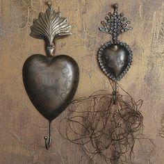 Sacred Heart Hooks | Wall Hooks | Decorative Wall Hooks