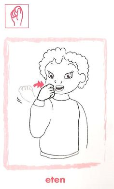babygebaren eten