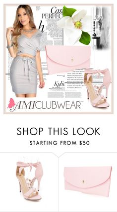 """""""AMICLUBWEAR 15/IV"""" by damira-dlxv ❤ liked on Polyvore featuring Whiteley and amiclubwear"""