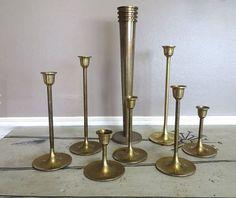 Brass Candlesticks - Etsy - Bought