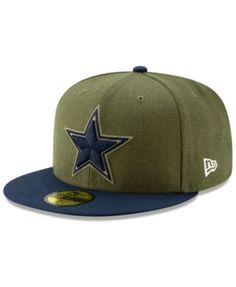 Dallas Cowboys Salute To Service 59FIFTY Fitted Cap 2018 9794e8b0b