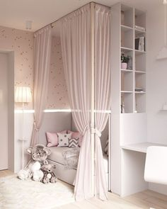 14 Trendy Bedroom Design and Decor Ideas for Your Next Makeover - The Trending House Rustic Bedroom Design, Kids Bedroom Designs, Baby Room Design, Bedroom Ideas, Bedroom Inspiration, Bedroom Decor, Baby Bedroom, Dream Bedroom, Girls Bedroom