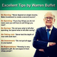 Excellent tips for this planet. #Life #money #economics