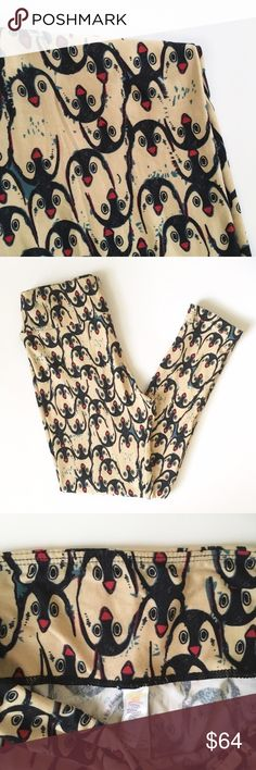 New Lularoe Penguins OS Leggings NWOT NWOT. Never washed and worn. One size fits 2-12. Pet and smoke free home. Unsolicited/ rude comments will be reported or blocked. Best offer accepted. Can be bundled. LuLaRoe Other