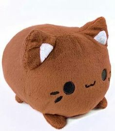 Chocolate meowchi plush