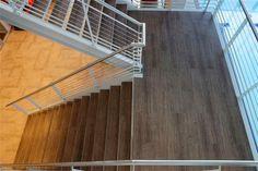 Flooring For Stairs, Best Flooring, Vinyl Plank Flooring, Basement Ideas, Floors, Honey, Home Decor, Home Tiles, Decoration Home