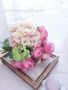 ユーズフルール(Yu's Fleur Wedding )東京・港区 ベイエリア フラワーサロン  グラデーションアジサイBouquet