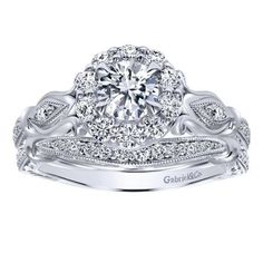 This ornate ring is etched on every surface with designs of an intricate detail.