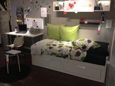 Brimnes bed at Ikea