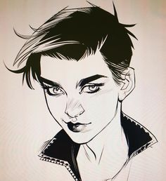 I think @rubyrose is the face I now think of when I draw Selina Kyle