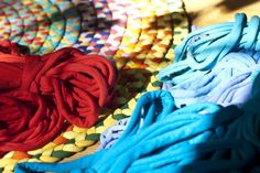 t-shirts to braided rugs.