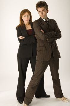 THROWBACK THURSDAY: David Tennant & Catherine Tate Doctor Who Photoshoot