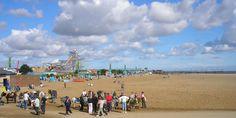 Skegness Beach Skegness Lincolnshire England Nowadays