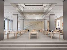 Bohlin Cywinski Jackson | Apple Store, Barcelona