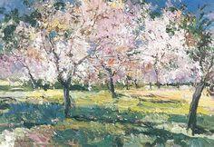 PIĘKNO, na które warto zwrócić uwagę cz. III - Strona 18 - Klub Senior Cafe Abstract Tree Painting, Abstract Landscape, Landscape Paintings, Dappled Light, Pictures To Paint, Acrylic Art, Watercolor Flowers, Drawings, Artwork