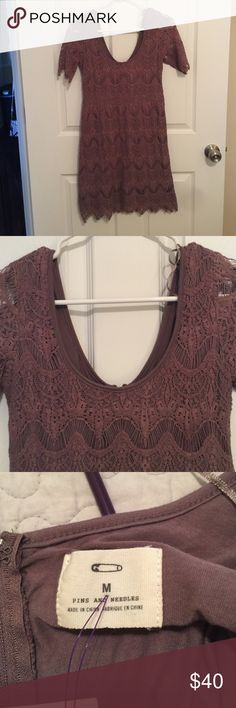 *Urban Outfitters* Pins and Needles Lace Dress Super Adorable!!! Very Good condition! Pins & Needles Dresses