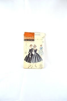 1950s Vintage Butterick Pattern 7201 Whirler by TabbysVintageShop, $35.00