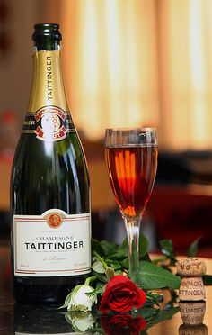 !!! Red Roses !!!                                          Champagne