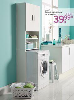 M s de 1000 ideas sobre lavadora secadora armario en - Secadora encima lavadora ...