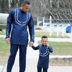 African Clothing/Father and Son Outfit/ African Men shirt and Matching Pants/ African Dresses For Kids, African Attire For Men, African Clothing For Men, African Shirts, African Wear Styles For Men, African Women, Nigerian Men Fashion, African Print Fashion, Africa Fashion