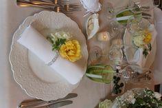 napkin - table setting Wedding  Elisa Zardo Interiors and Events  http://elisa-zardo.tumblr.com/