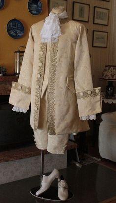 ABITO STORICO MASCHILE XVIII SECOLO 1750