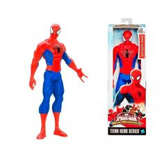 Figura Spiderman Ultimate Web Warriors. Hasbro, 30cm Figura articulada de 30cm del personaje de Ultimate Spiderman, fabricada por Hasbro