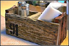 driftwood crate, crafts, woodworking projects