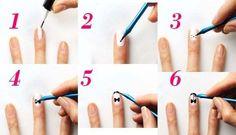 Uñas decoradas con un esmoquin | Decoración de Uñas - Manicura y NailArt