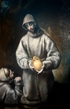 St Francis taking from people that took people, not applied to myself. i gift that. make sure these actual guys donate a piece of themselves to this for their own survival. Catholic Saints, Roman Catholic, St Francisco, Lives Of The Saints, Creta, Francis Of Assisi, Sacred Art, Memento Mori, Holy Spirit