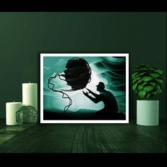 fantasy art poster surreal science ficton poster sciencefiction poster art poster