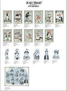 Want, want, want, got, need, need, want, need, got, want, want, got... Tokyo Treats by James Braithwaite! #treats #prints #illustration #portrait #characters #graphic