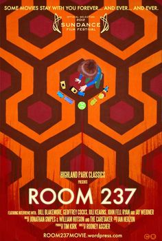 Room 237, a super interesting documentary about The Shining