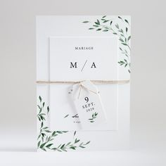 Make an elegant wedding with its plant motifs, this superposition model will surprise your loved ones by its composition and format. A perfect share for a natural and rural wedding, ref Elegant Wedding Invitations, Wedding Invitation Cards, Wedding Stationery, Wedding Cards, Diy Wedding, Wedding Ceremony, Wedding Ideas, Nature Decor, Wedding Album