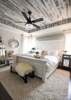 18 Inspiring Farmhouse Bedroom Decor and Design Ideas