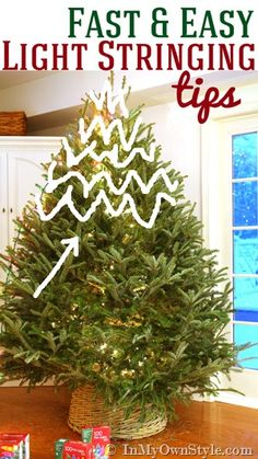 Putting Lights on a Christmas Tree…The EASY WAY | Fred Gonsowski ...