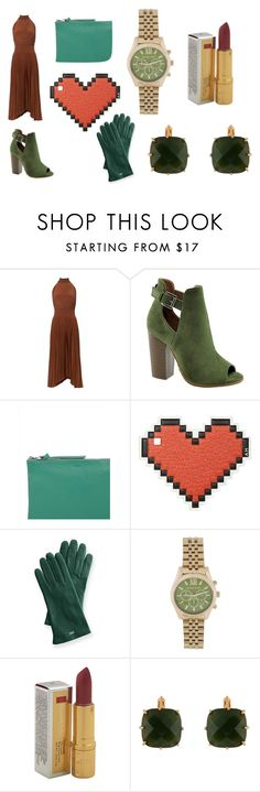 """Toned Autumn"" by silvia-flora-catrambone ❤ liked on Polyvore featuring A.L.C., Bella Marie, Jaeger, Anya Hindmarch, Mark & Graham, Michael Kors, Elizabeth Arden and Les Néréides"
