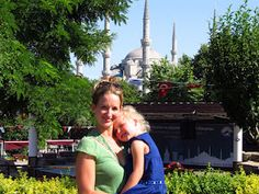 Outside the Blue Mosque, Istanbul. I'll be back in a couple weeks!