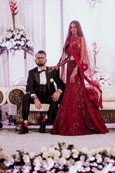 Bridal Dupatta, Indian Bridal Lehenga, Indian Sarees, Wedding Week, Red Wedding, Wedding Dress, Bollywood Theme, Bridal Braids, Indian Wedding Planning