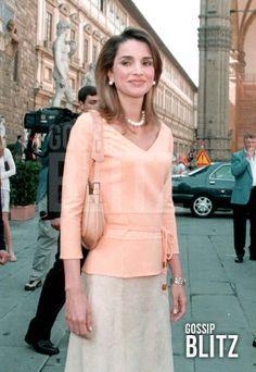 2001, Italy...♔♛Queen Rania of Jordan♔♛..
