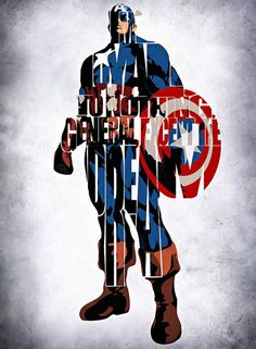 Drawing Marvel Comics Captain America (Steve Rogers) is a fictional character, a superhero in the Marvel Comic universe. Marvel Dc Comics, Marvel Avengers, Marvel Heroes, Avengers Symbols, Avengers Quotes, Iron Man Capitan America, Capitan America Marvel, Marvel Captain America, Comic Style
