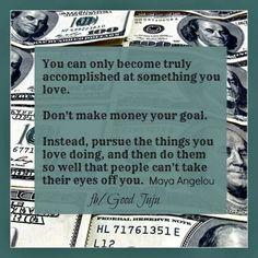 Great Advice...