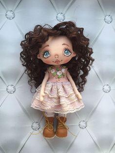 Купить Куколка- малышка - кукла ручной работы, кукла, кукла в подарок, кукла интерьерная