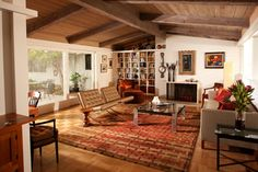 love these chairs La Jolla Living Room - eclectic - living room - san diego - Carol Spong Interior Design