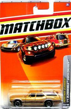 1970's Oldsmobile Vista Cruiser Matchbox 2009 Heritage Classics #18/100 Gold
