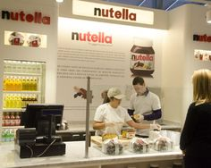 Eataly Replaces Wine Store with Nutella Bar #Eataly #Nutella #wine