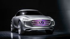 mercedes-benz G-Code vision concept turns into a giant solar panel