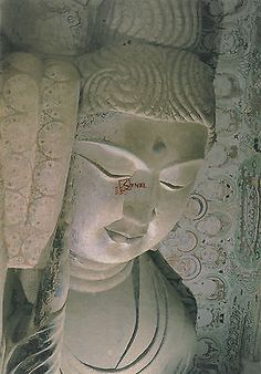 Lot-of-10-China-UNESCO-Postcards-Dunhuang-Buddha-Statues-Painted-Sculpture