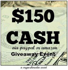 $150 CASH Giveaway Event