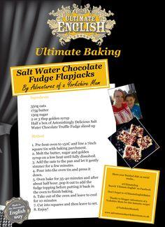 a flapjack recipe using chocolate fudge